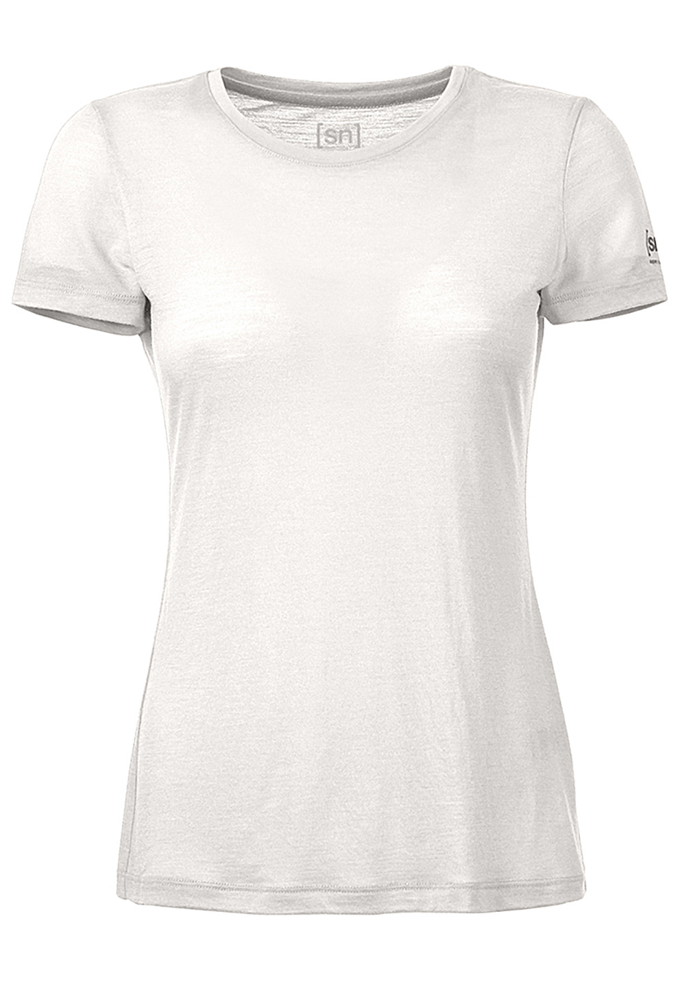 Super.natural Base 140 - T-Shirt für Damen - Weiß - L