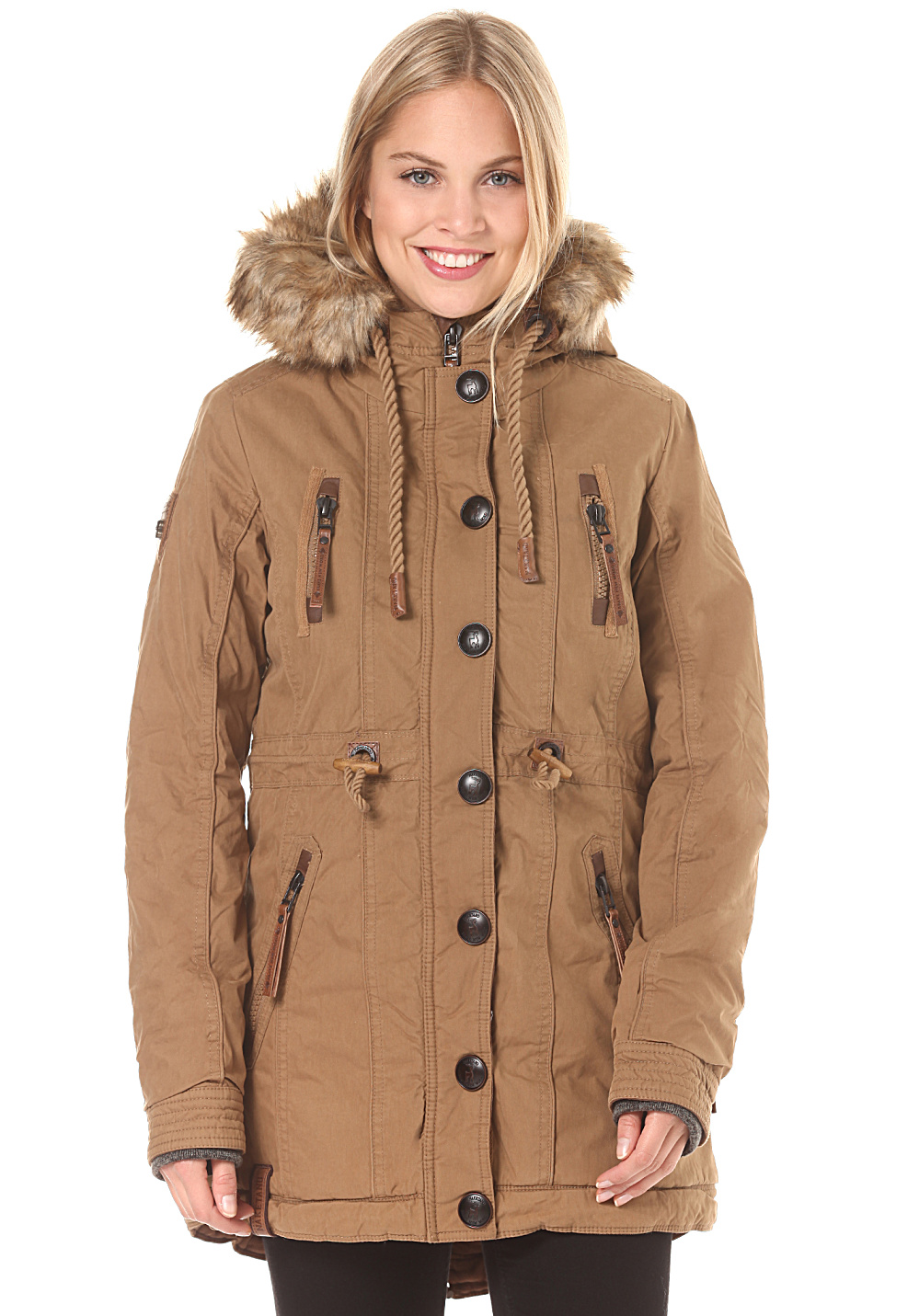 Shop the latest styles of Womens Tan/Beige Coats at Macys. Check out our designer collection of chic coats including peacoats, trench coats, puffer coats and more!