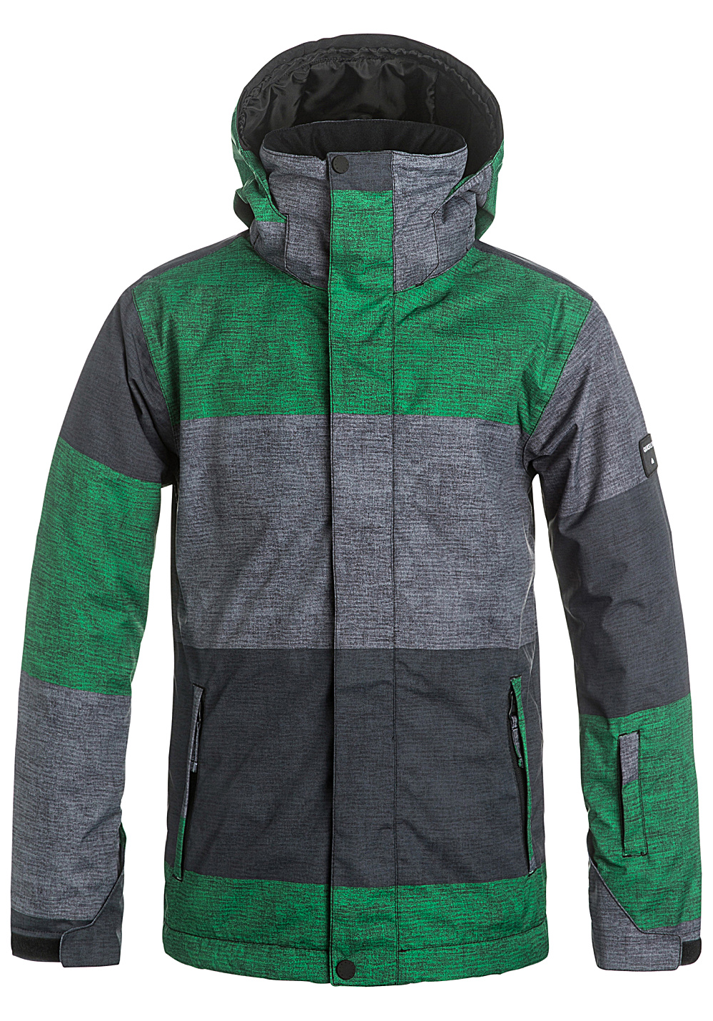 quiksilver mission print veste de snowboard pour gar on vert planet sports. Black Bedroom Furniture Sets. Home Design Ideas