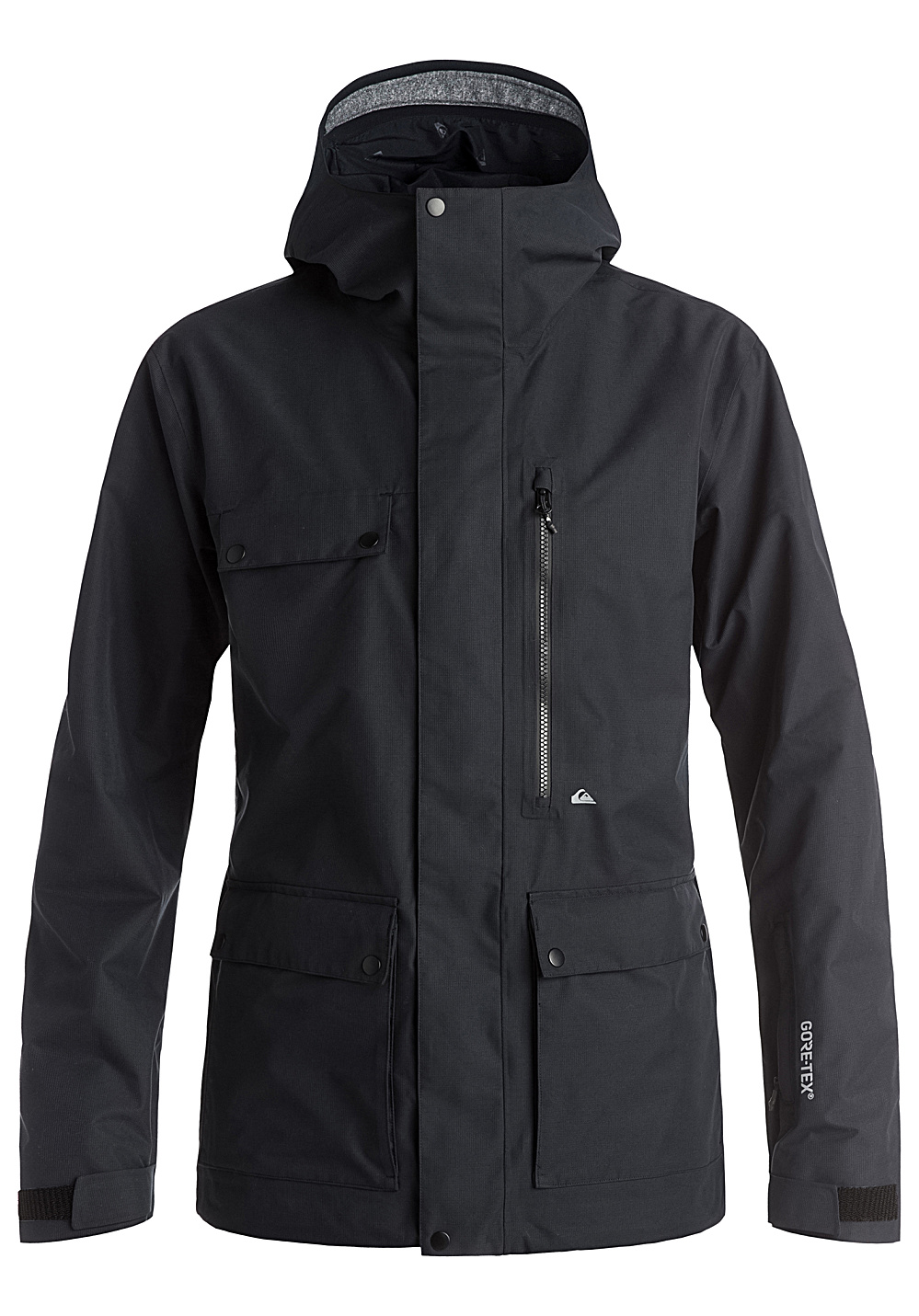 quiksilver southwood veste de snowboard pour homme noir planet sports. Black Bedroom Furniture Sets. Home Design Ideas