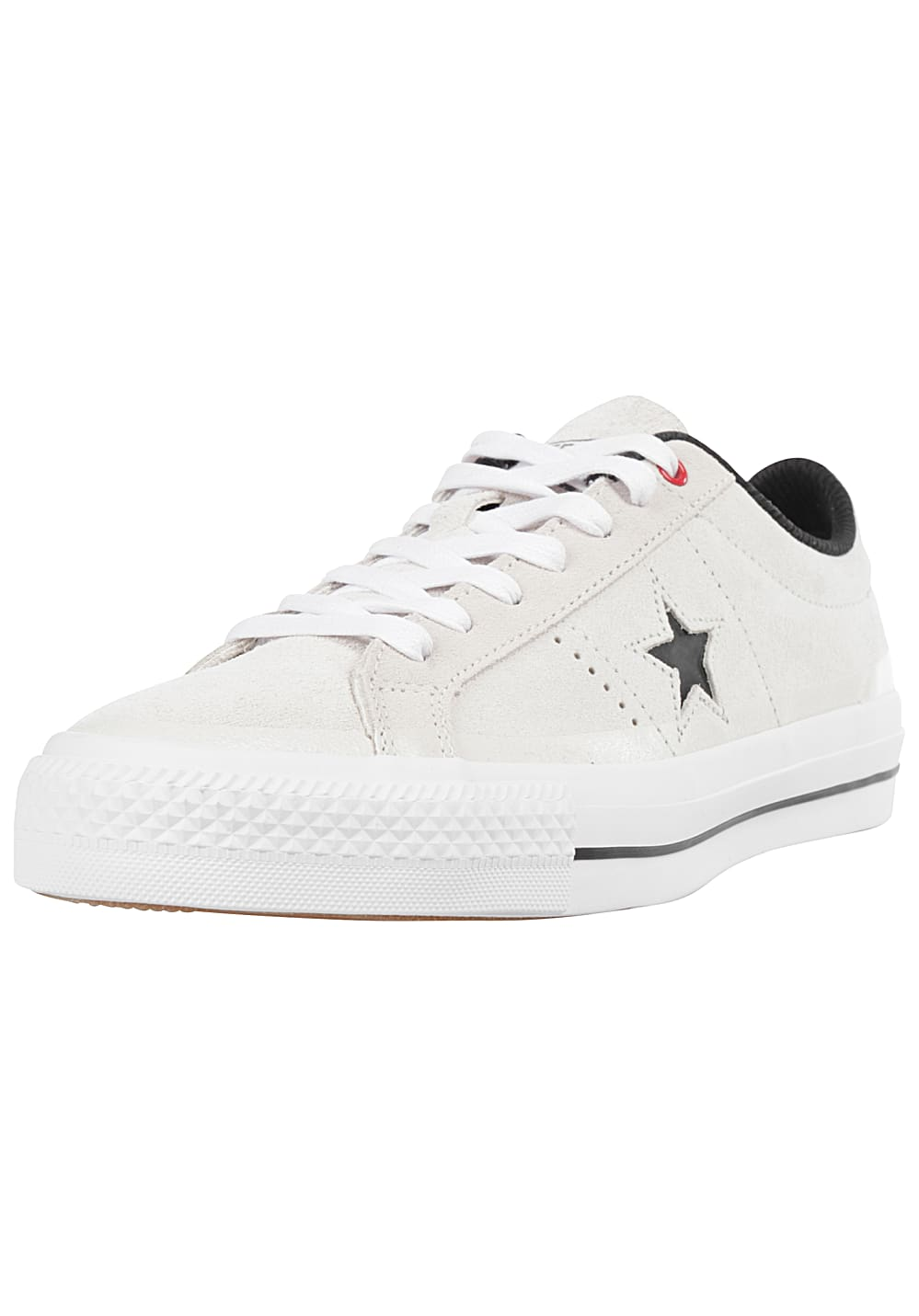 714cc95b677 Converse One Star Pro Suede Ox - Sneakers - White - Planet Sports