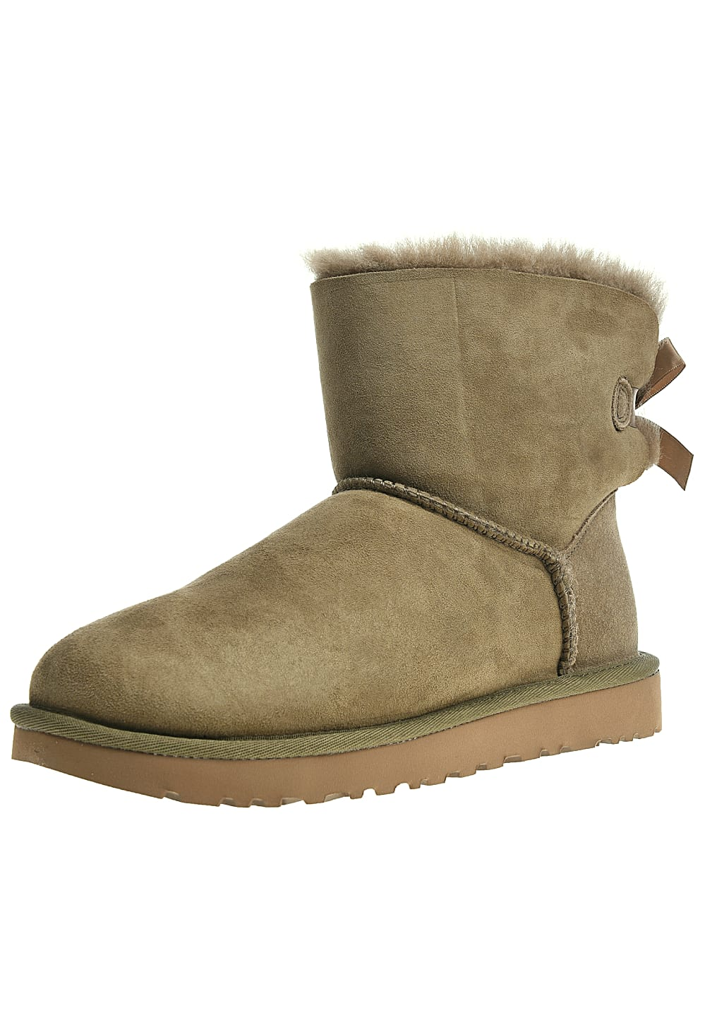 fc2953ffdafd UGG Mini Bailey Bow II - Boots for Women - Brown - Planet Sports