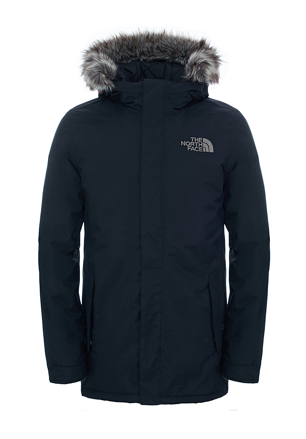 North Face Jacket With Fur Hood