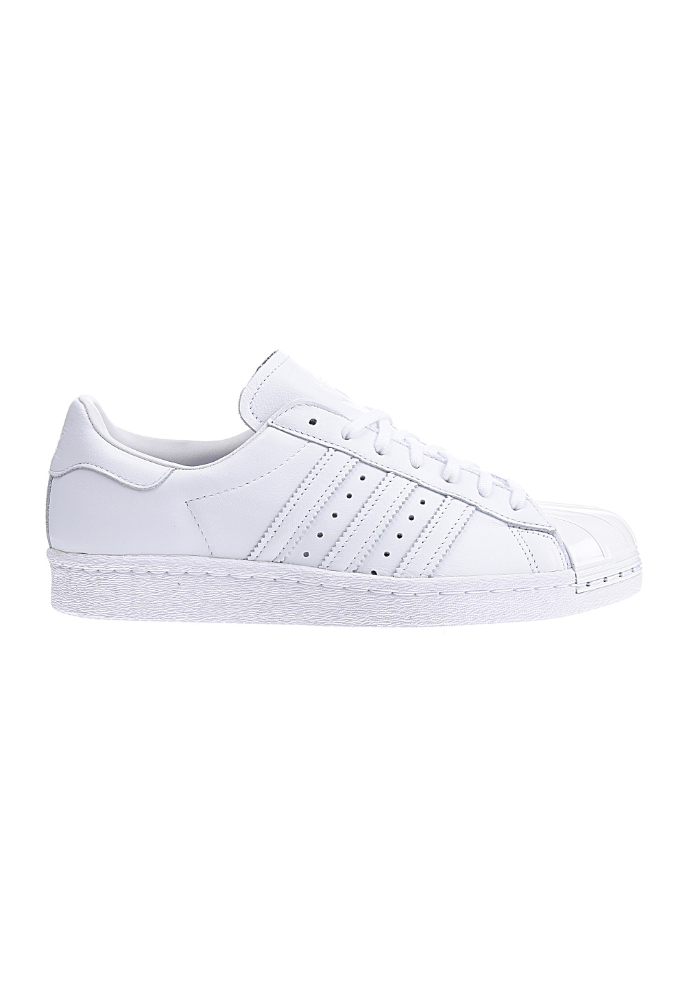 Adidas Trainers Womens Superstar 80s Metal Toe White