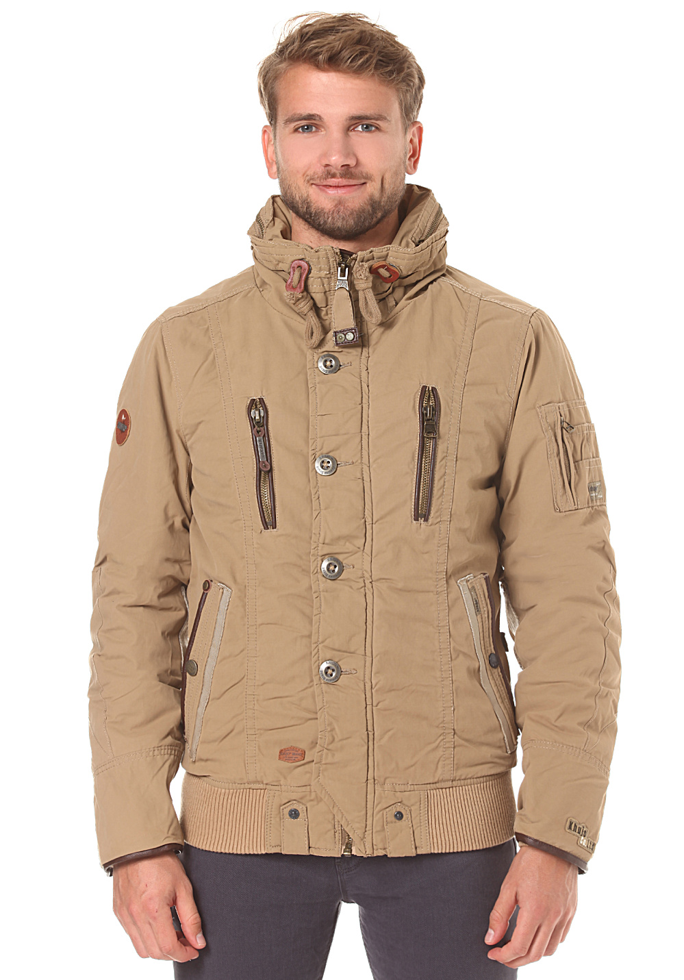 Buy Men Beige Jackets & Blazers online in India. Huge selection of Beige Jackets & Blazers at worldofweapons.tk All India FREE Shipping. Cash on Delivery available.