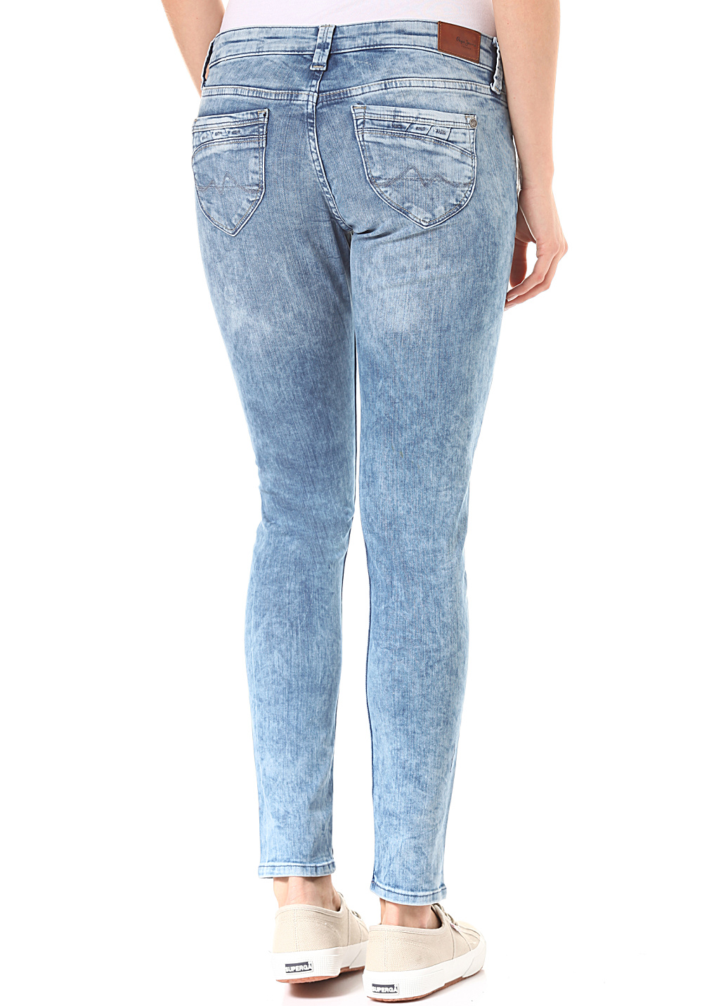 Planet Sports Donna Ripple Blu Per Jeans Pepe YXgxqTw