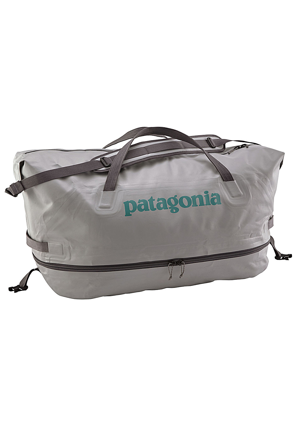 83a5a566a0c3 PATAGONIA Stormfront Wet Dry Duffel 65L - Gym Bag - Grey - Planet Sports