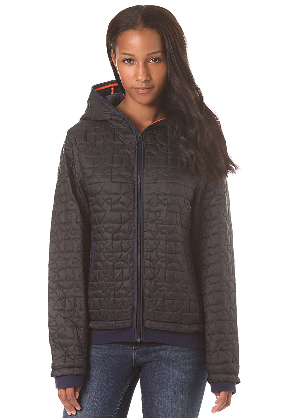 Bench Quilted Jacket For Women Black Planet Sports