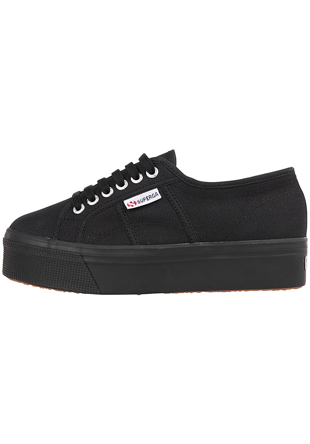 taglia 40 bf743 cc106 SUPERGA 2790-Acotw Linea Up And Down - Sneakers for Women - Black