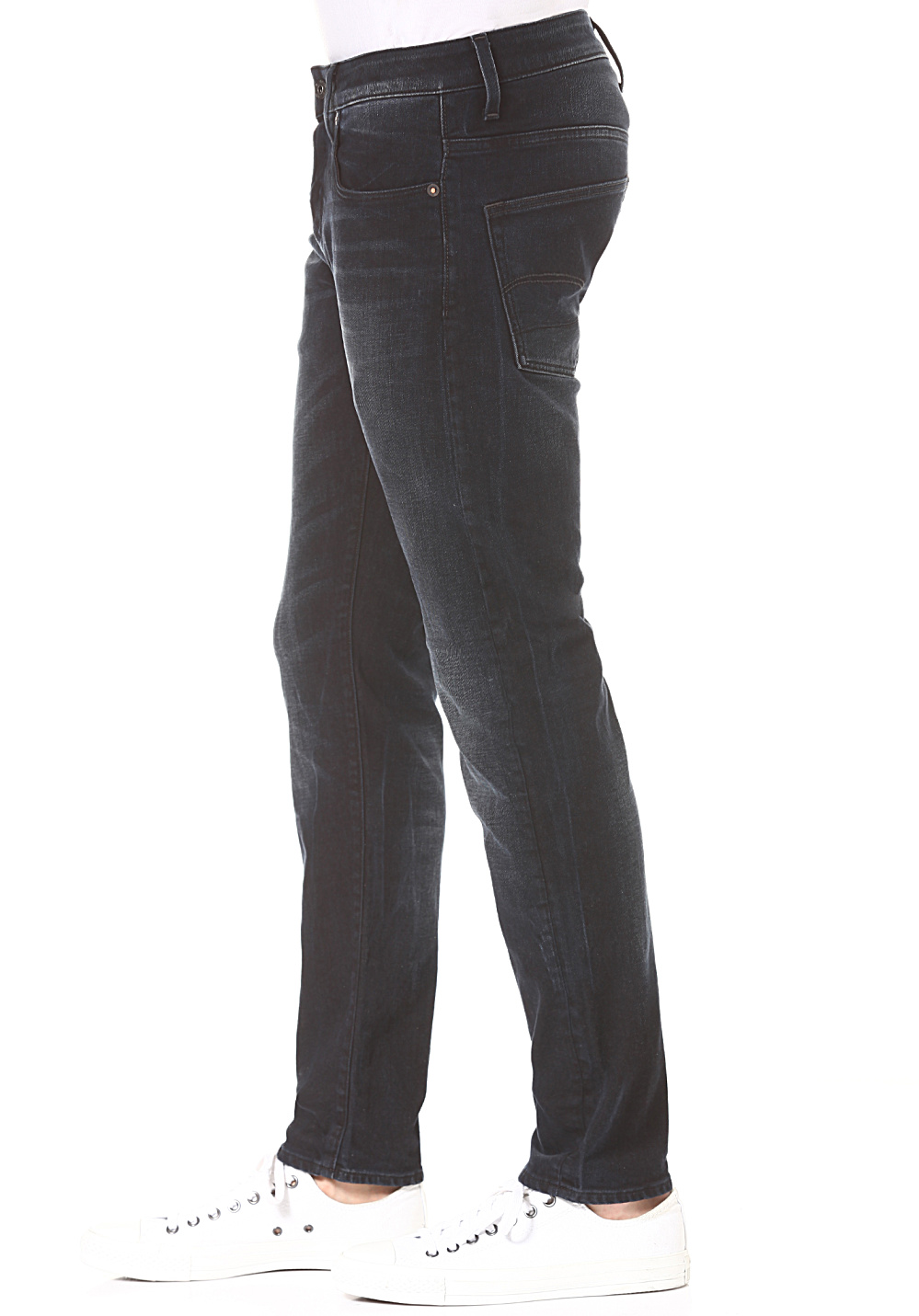 1181ba2a53ca94 G-STAR 3301 Slim - Denim Jeans for Men - Blue - Planet Sports
