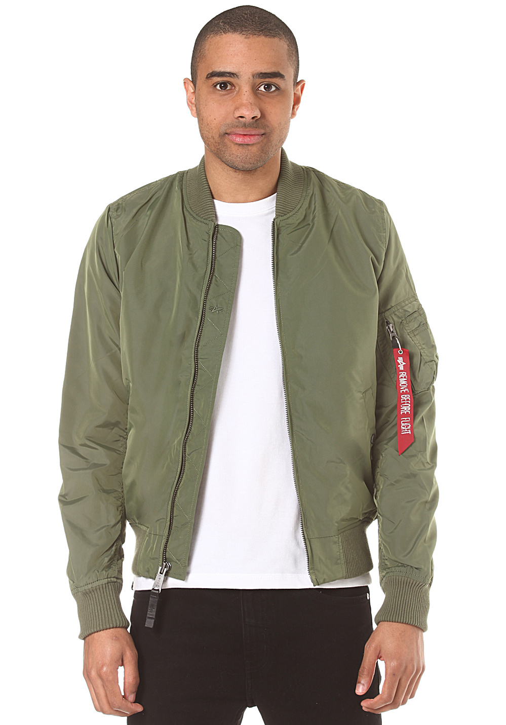 0f4199538 ALPHA INDUSTRIES MA-1 TT - Jacket for Men - Green