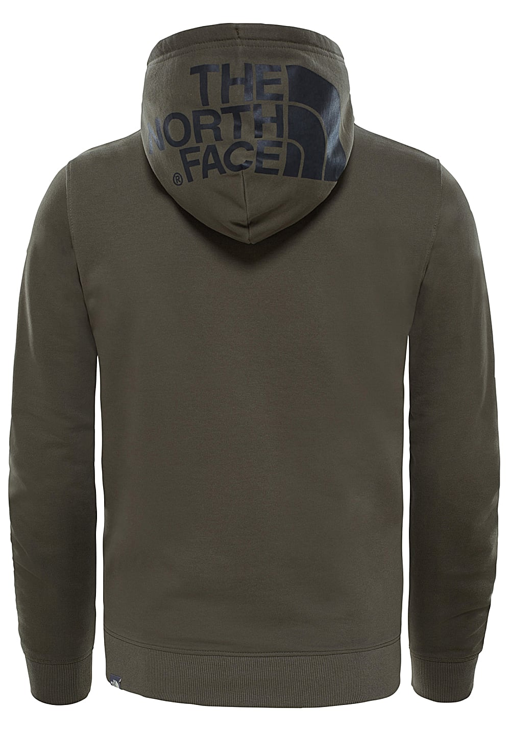 d7367def1d THE NORTH FACE Seasonal Drew Peak Light - Felpa con cappuccio per Uomo -  Verde