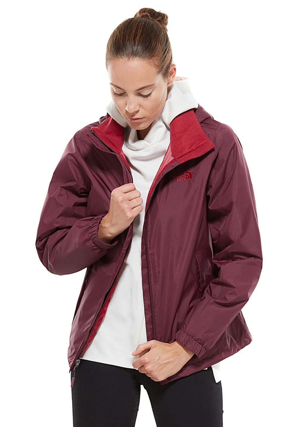 The For 2 Red Jacket Women North Resolve Functional Face QrCthsxd