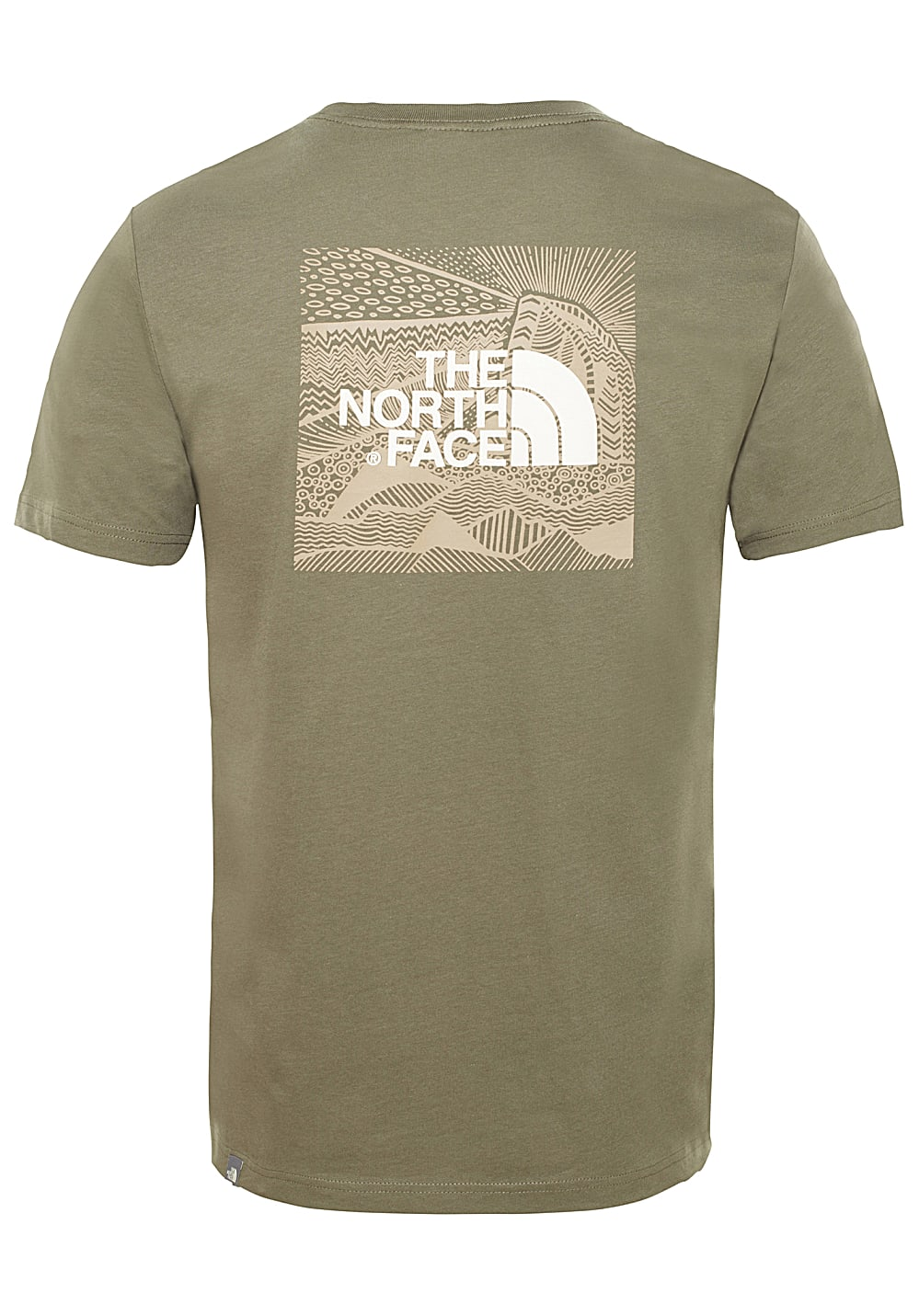 0687224fb THE NORTH FACE Redbox Celebration - T-Shirt for Men - Green