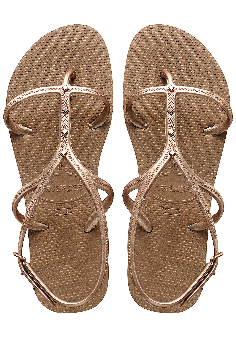 5be5e662c HAVAIANAS Allure Maxi - Sandals for Women - Gold - Planet Sports
