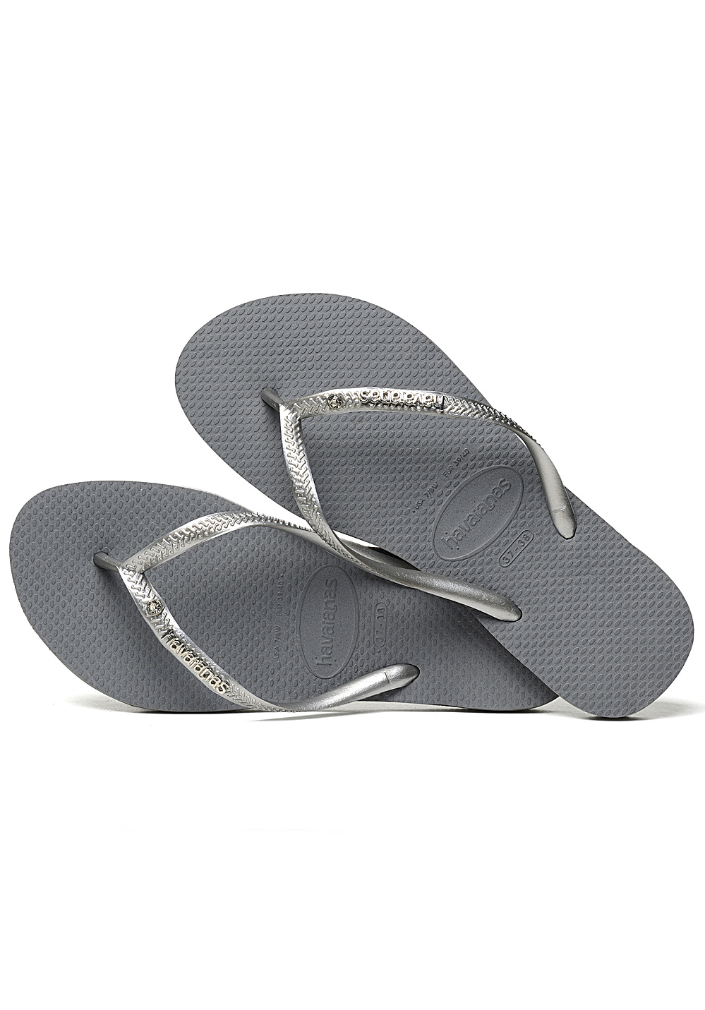 af137606e Next. -20%. HAVAIANAS. Slim Metal Logo and Crystal - Sandals for Women