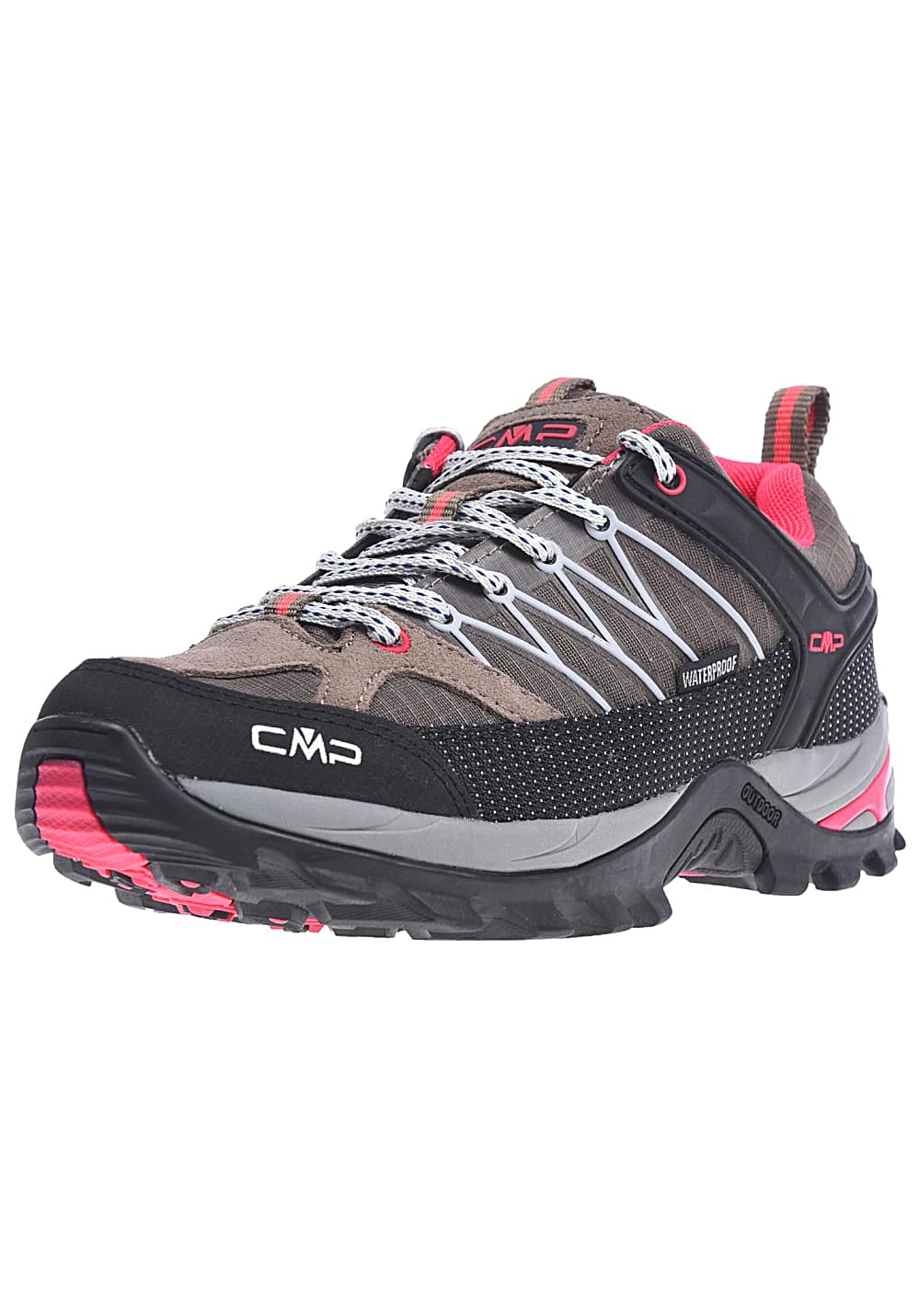 CMP Rigel Low WP - Scarpe da trekking per Donna - Marrone - Planet ... 92f6481cff1