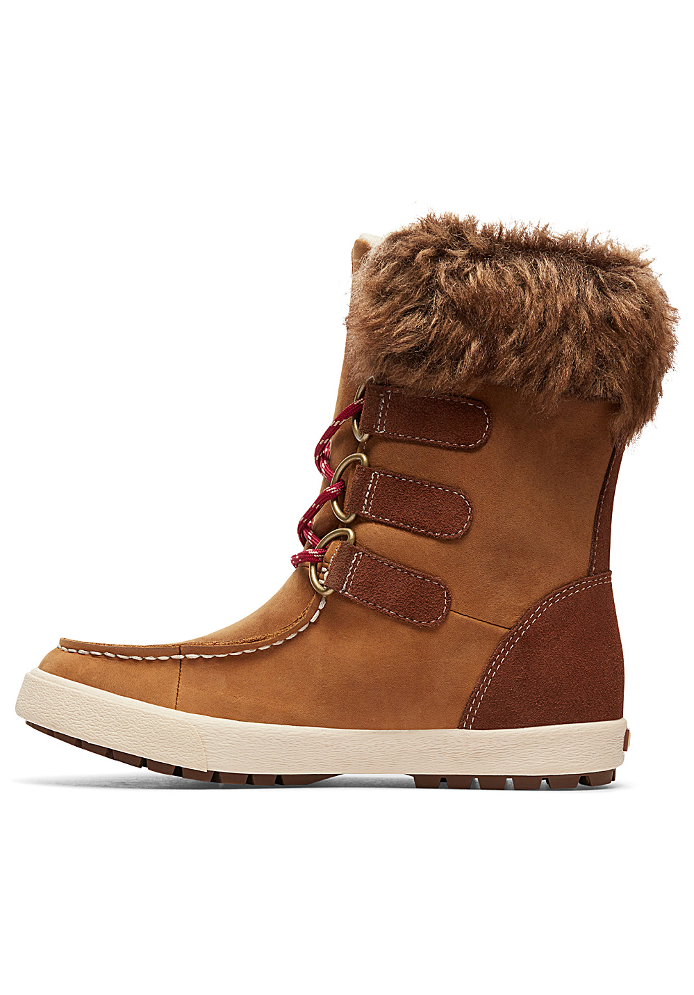 Marron Femme Roxy Pour Bottines Rainier thQdBsrCx