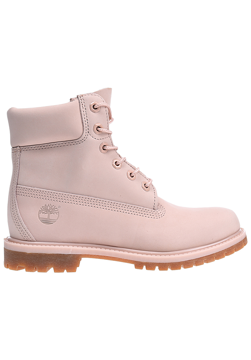 TIMBERLAND 6 inch Premium Bottes pour Femme Rose