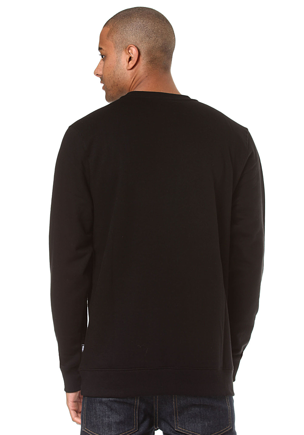 8f767af6e77acd ... Vans Classic Crew - Sweatshirt for Men - Black. Back to Overview. 1  2.  Previous