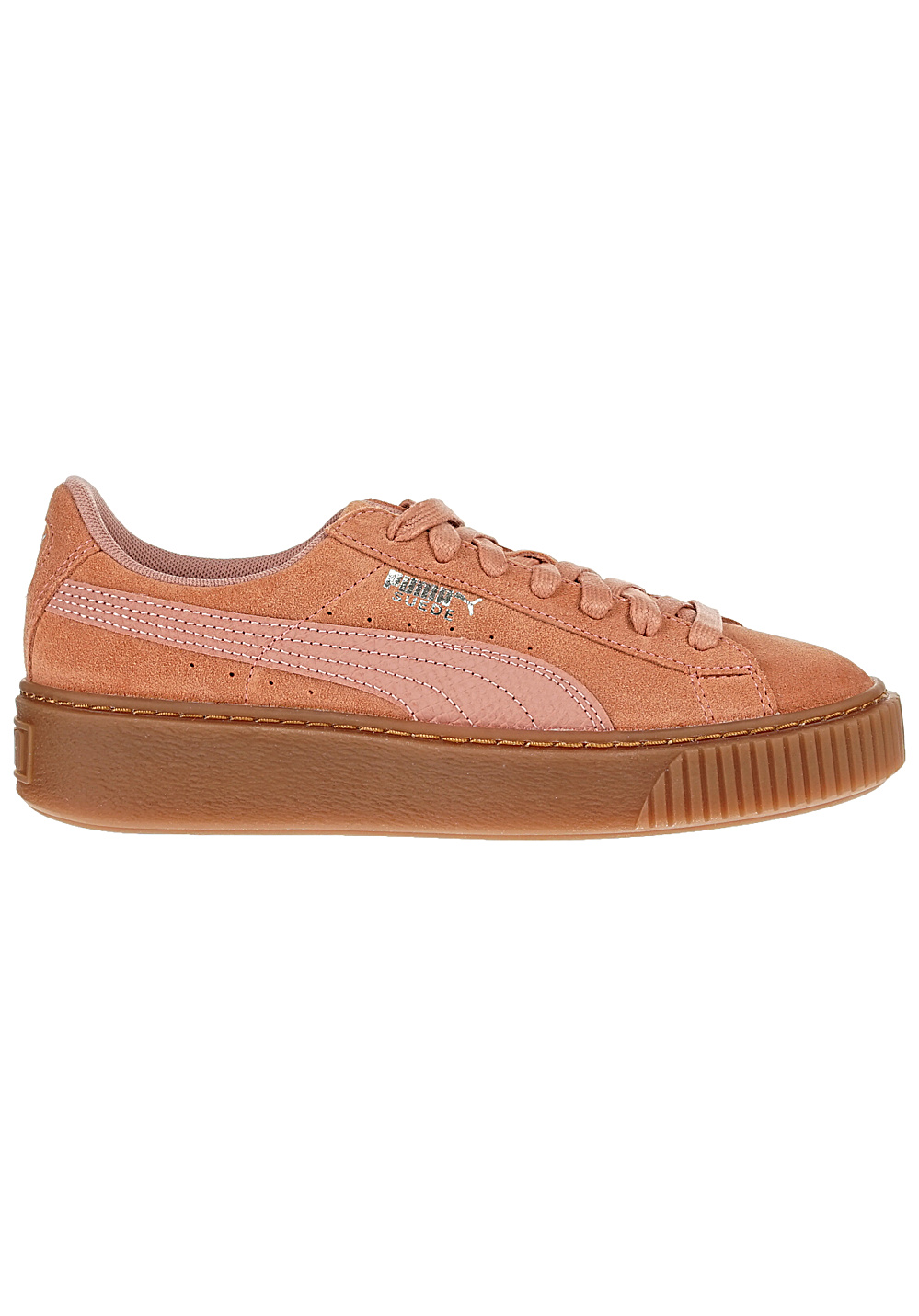 new style c8ffa ee905 Puma Suede Platform Animal - Baskets pour Femme - Rose - Planet Sports
