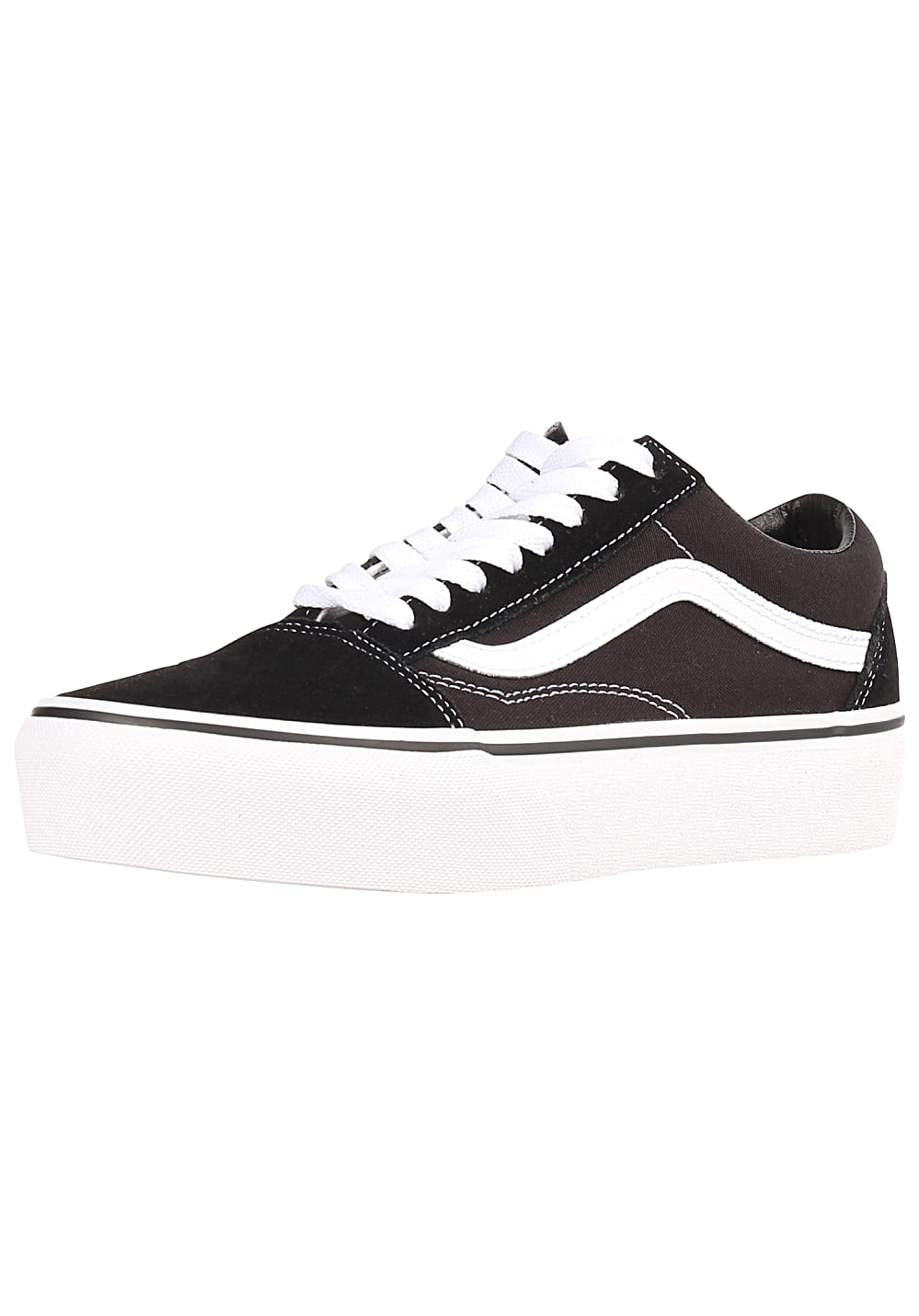 407352ab8c Vans Old Skool Platform - Sneakers for Women - Black - Planet Sports