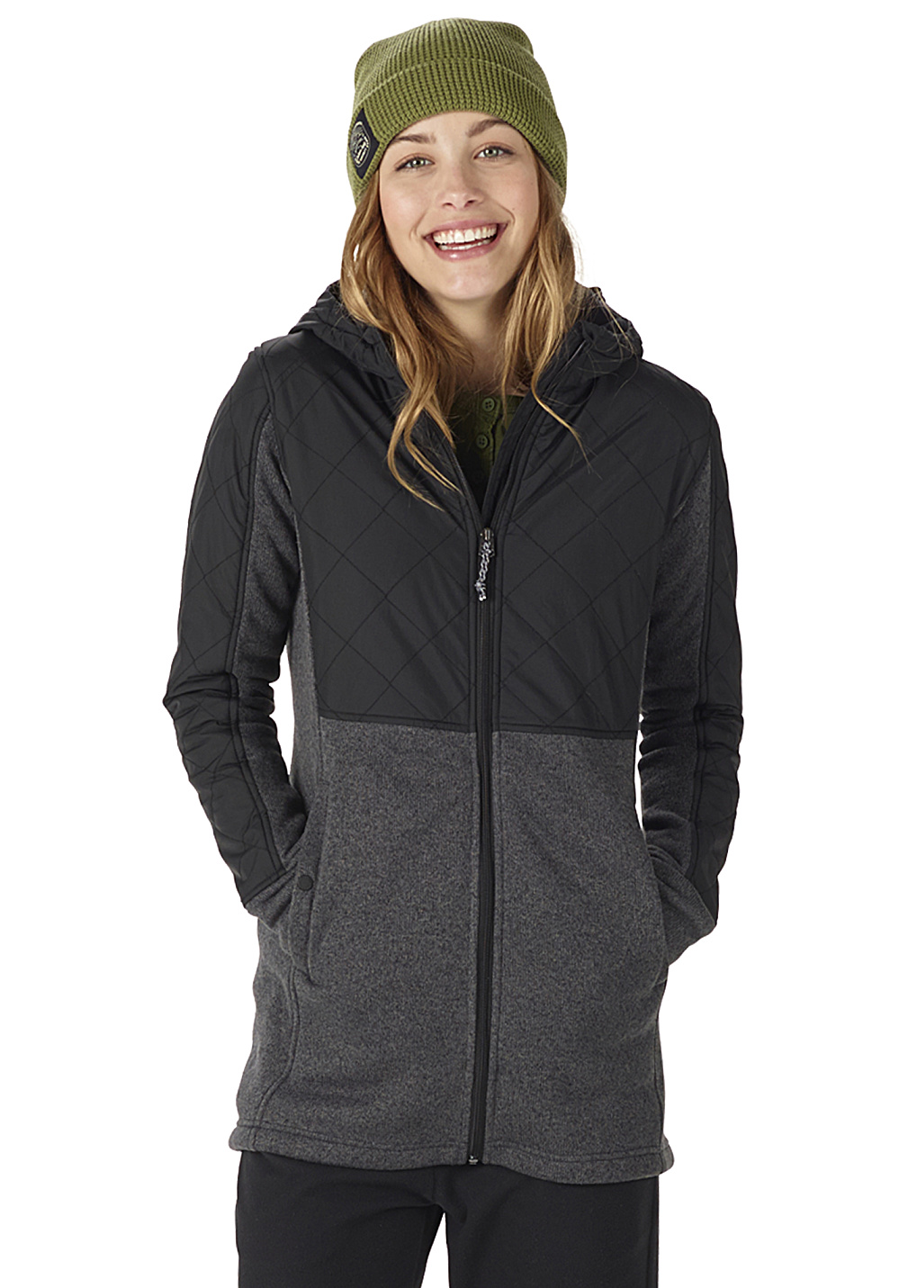 Burton Embry - Fleece Jacket for Women - Black - Planet Sports
