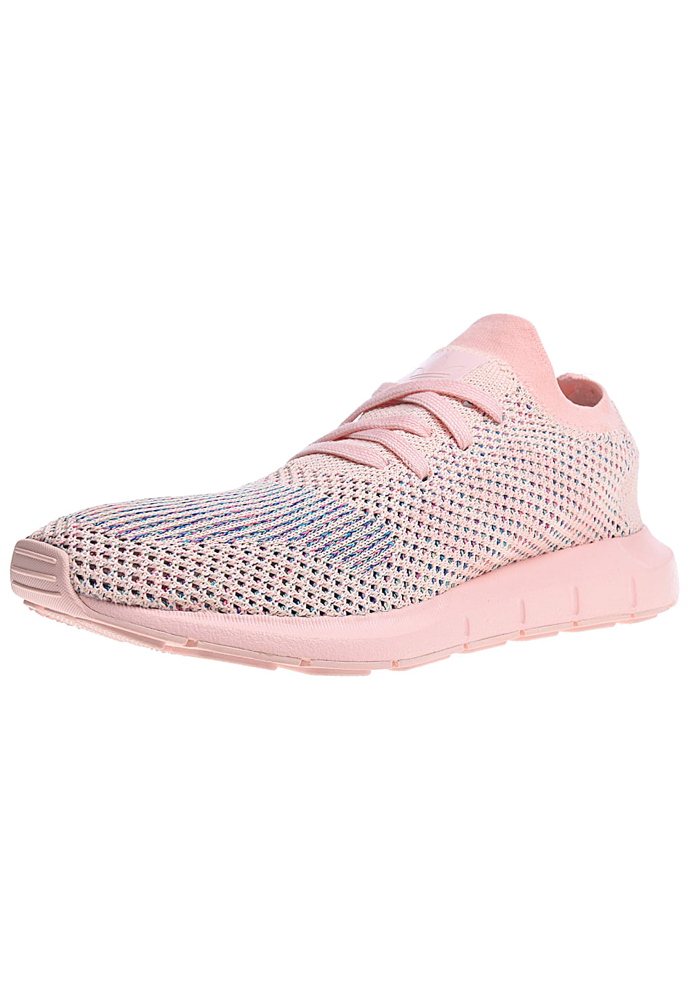 adidas swift run dames heren primeknit wit groen