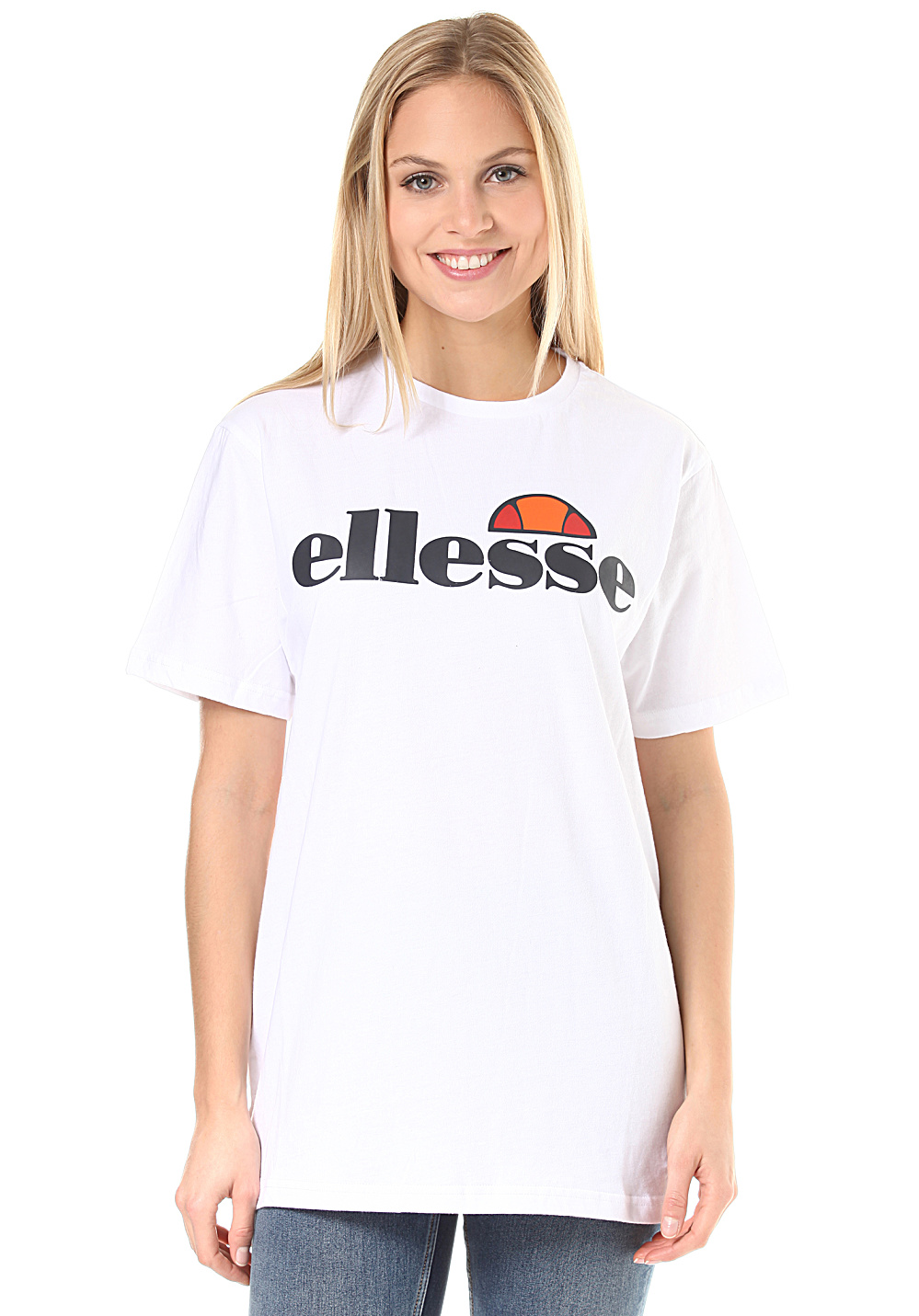 0381ea0b ELLESSE Albany - T-Shirt for Women - White - Planet Sports