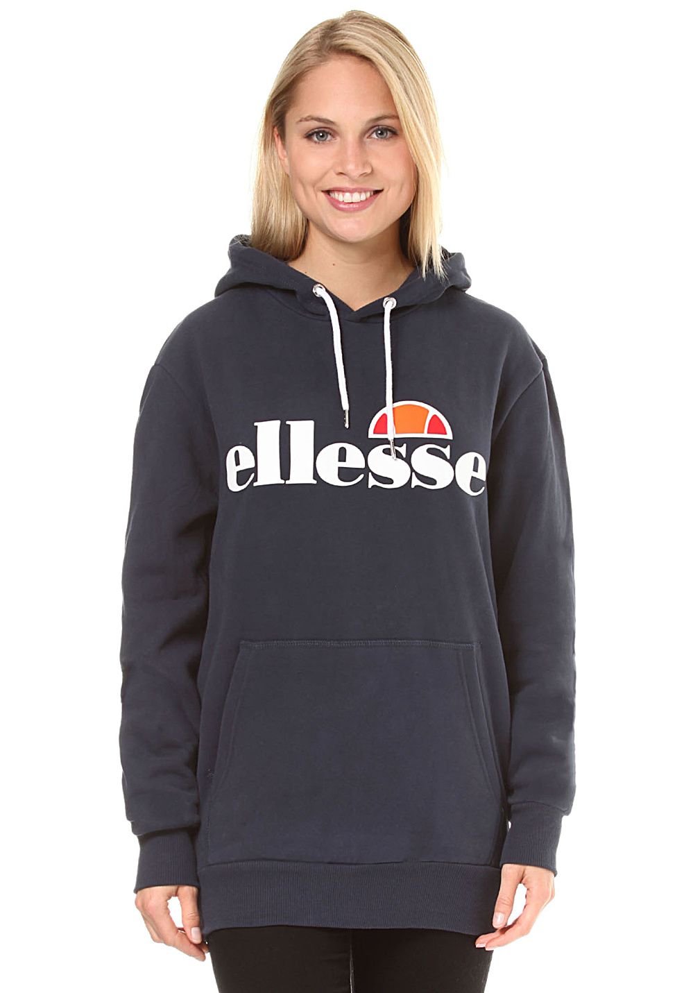 e183b2eb ELLESSE Torices - Hooded Sweatshirt for Women - Blue - Planet Sports
