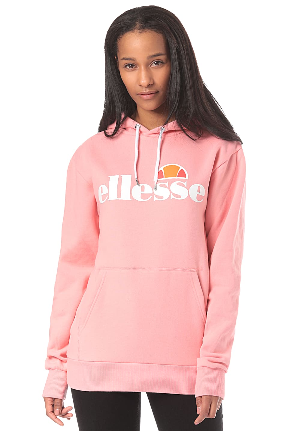 e06d1cff ELLESSE Torices - Hooded Sweatshirt for Women - Pink - Planet Sports