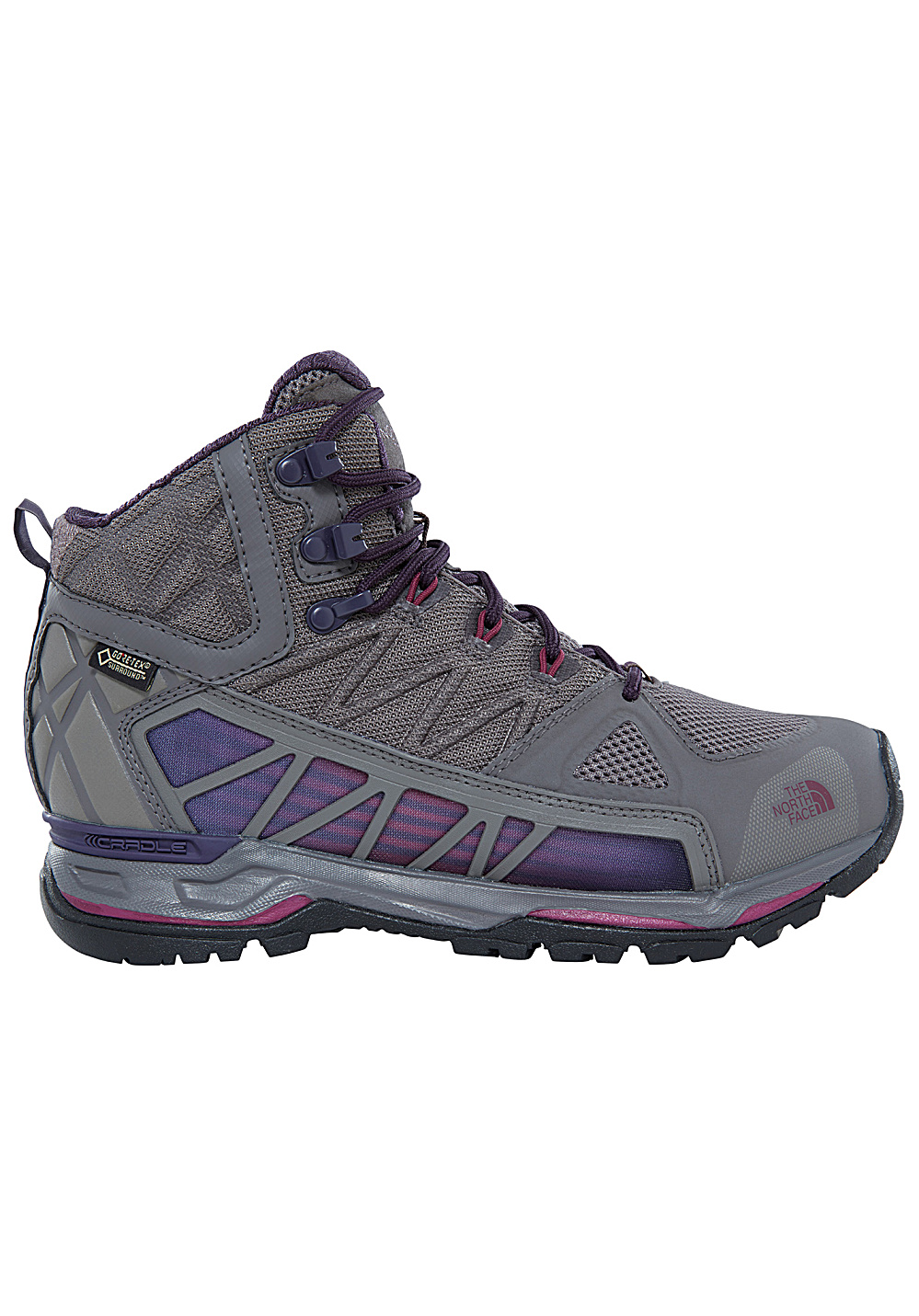 0ca54623d THE NORTH FACE Ultra GTX Surround Mid - Trekking Shoes for Women - Grey