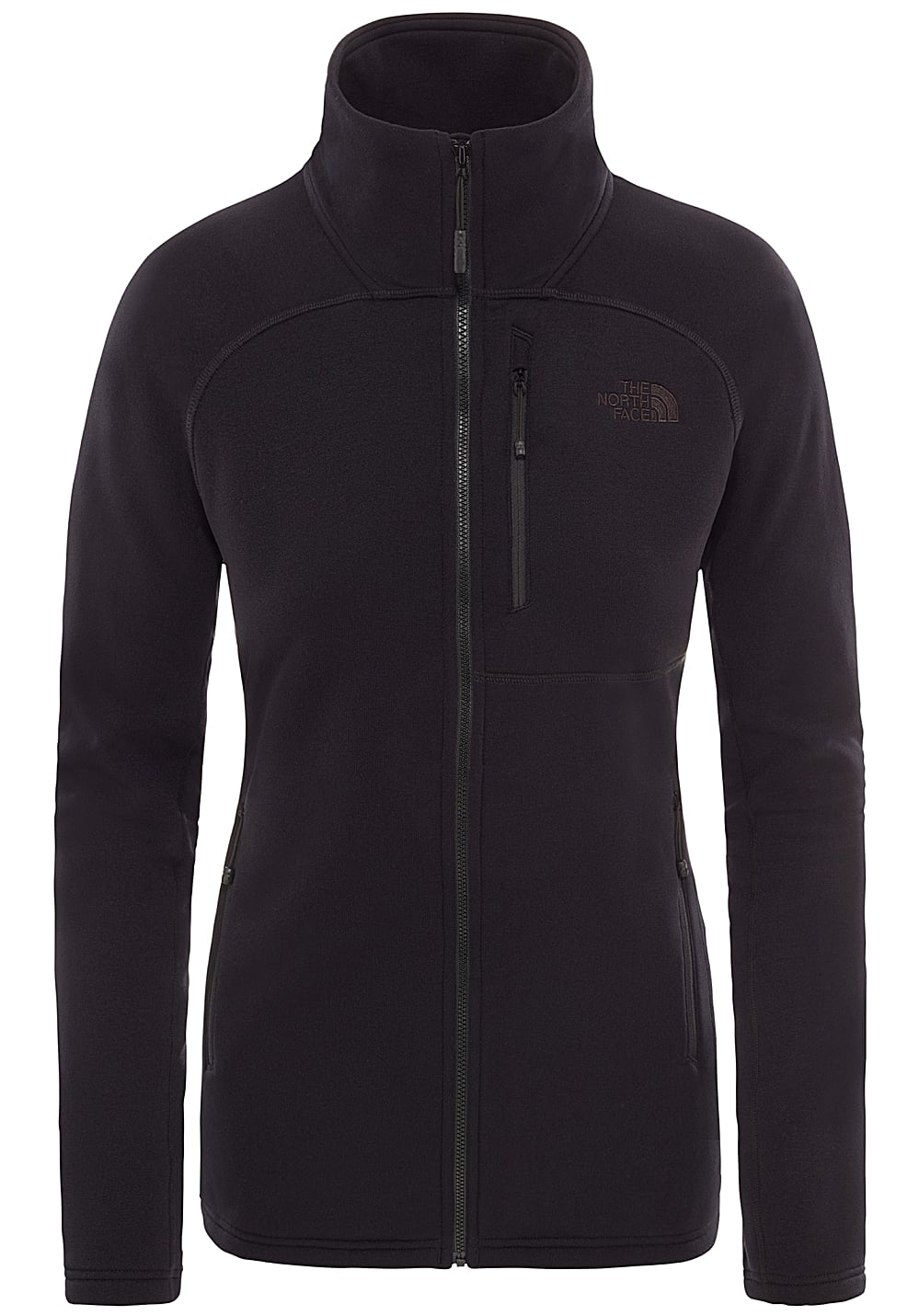 THE NORTH FACE Flx2 Powerstretch Fleece Jacket for Women Black