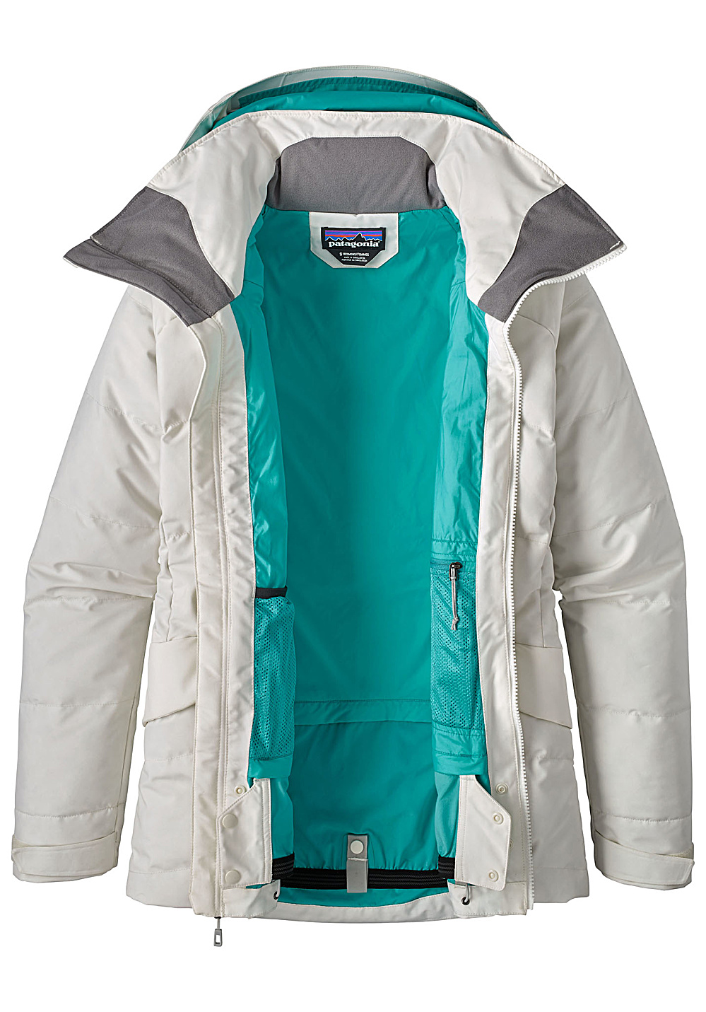 6a6d6585d PATAGONIA Pipe Down - Functional Jacket for Women - White