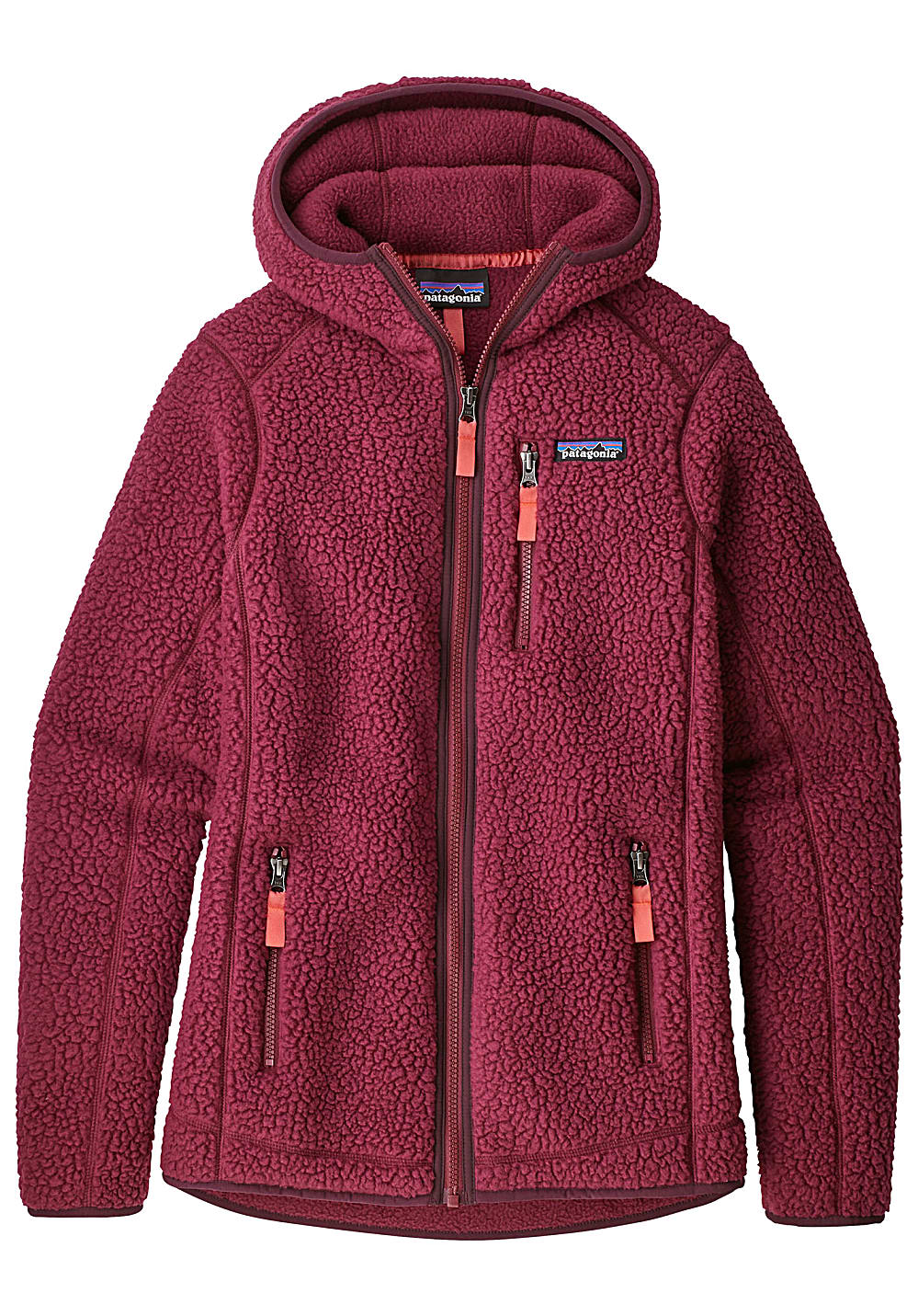 low priced 8a746 5c83f PATAGONIA Retro Pile - Fleece Jacket for Women - Red