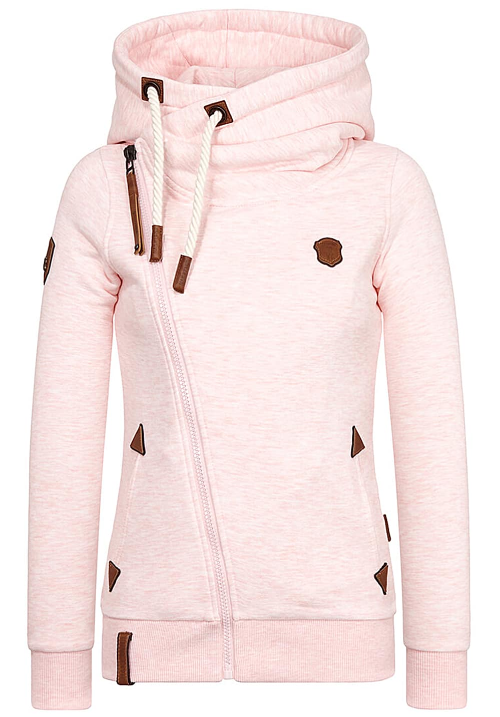 NAKETANO Family Biz Hooded Jacket for Women Pink