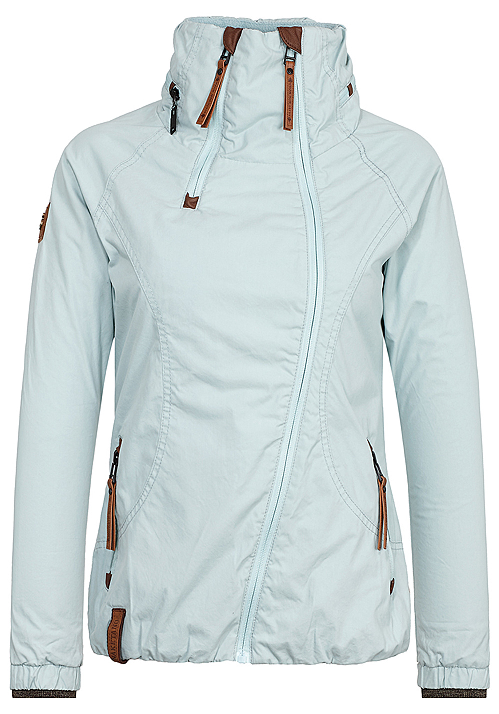 Naketano Female Jacket Kanone ist geladen Pastel Mint