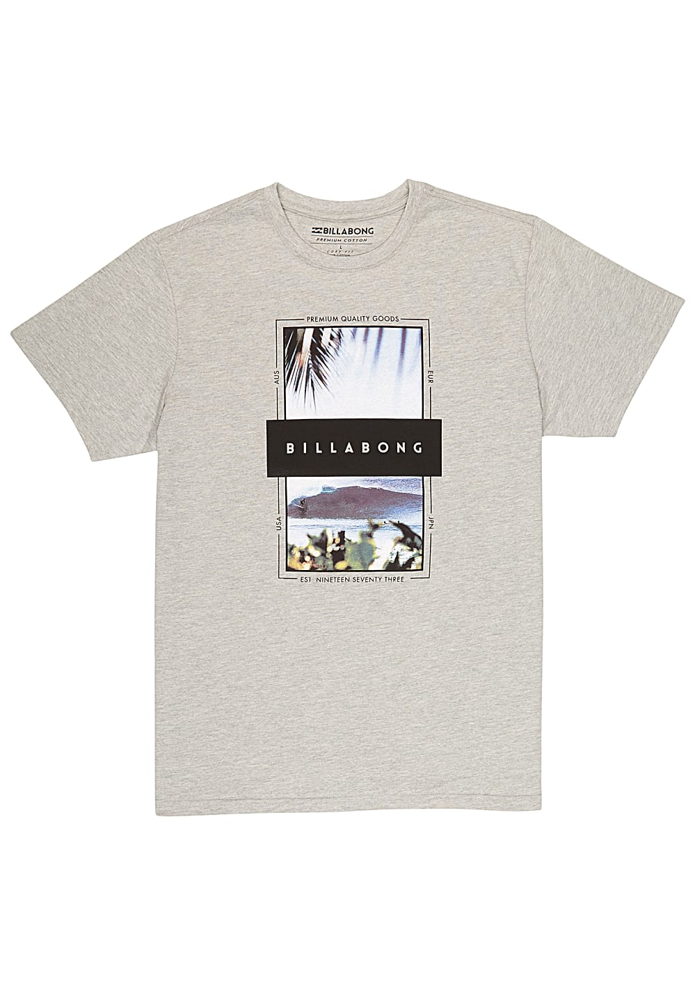 billabong tshirt  BILLABONG Locked In - T-Shirt per Uomo - Grigio - Planet Sports