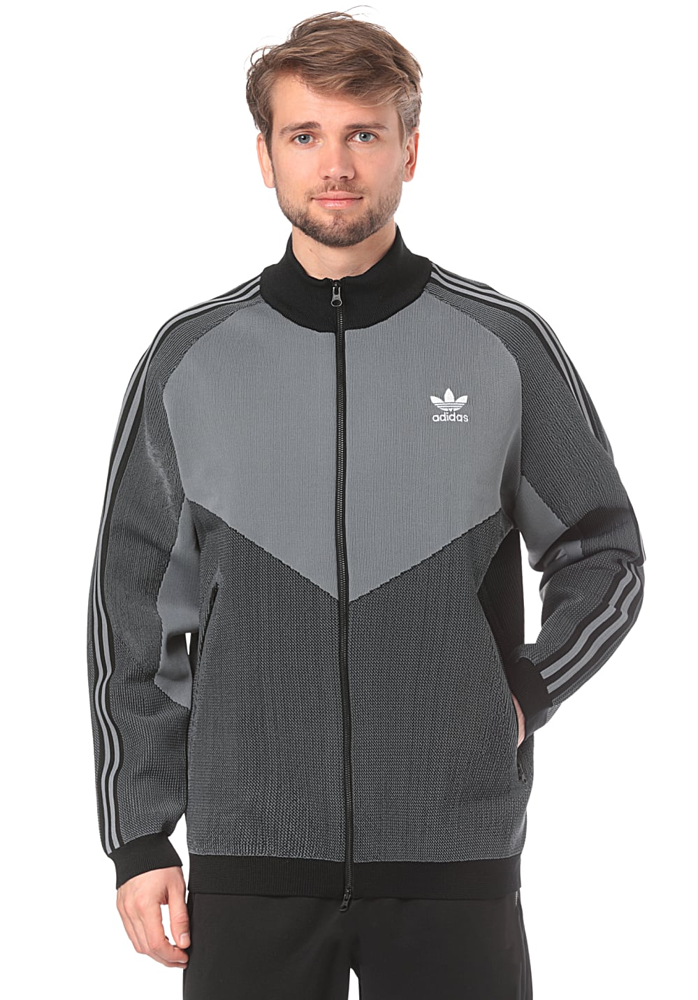 adidas originals veste homme stripped