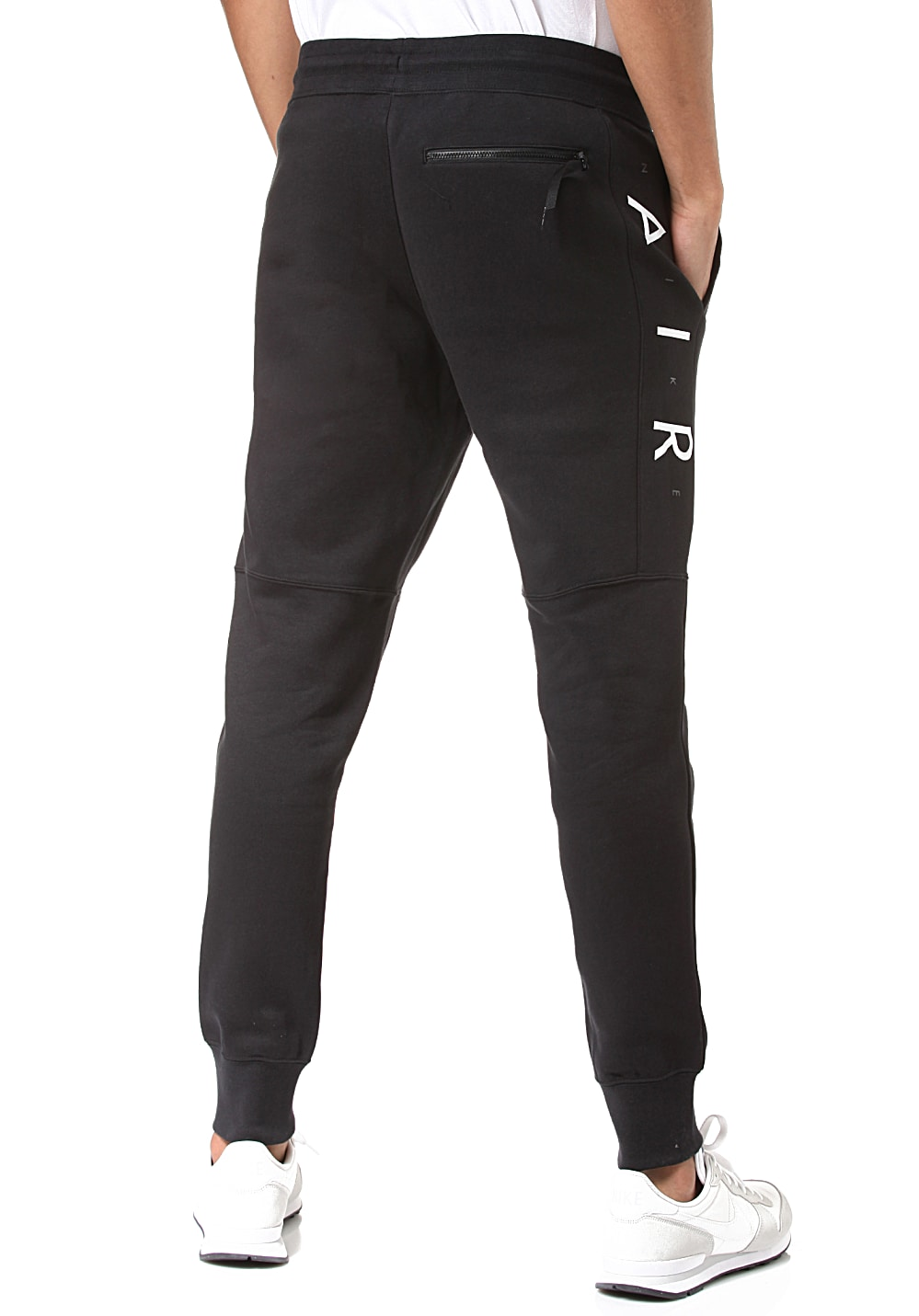 04cfae15a2 NIKE SPORTSWEAR Air Fleece - Trackpants for Men - Black - Planet Sports