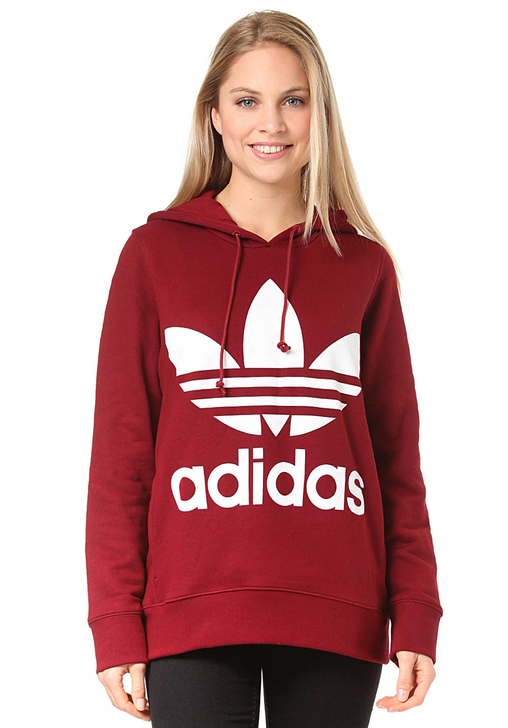 adidas hoodie rood Sale. Up to 62% Off. Free Shipping & Returns
