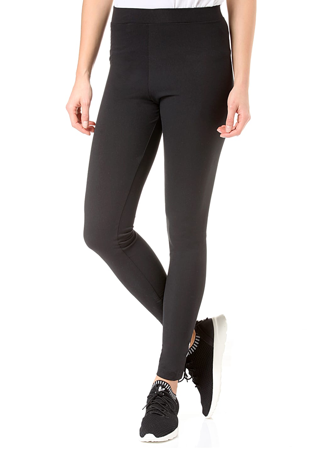 Wnnv0m8 Pour Adidas Tight Leggings Noir Femme Originals Trefoil Planet zMVSpU