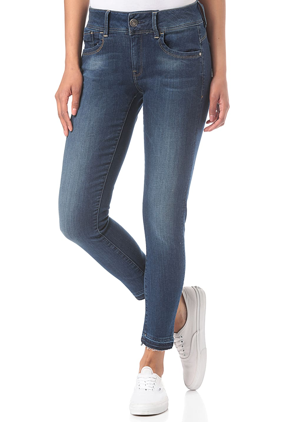 G STAR Lynn Mid Skinny rp AnkleMaure Superstretch Jean pour Femme Bleu