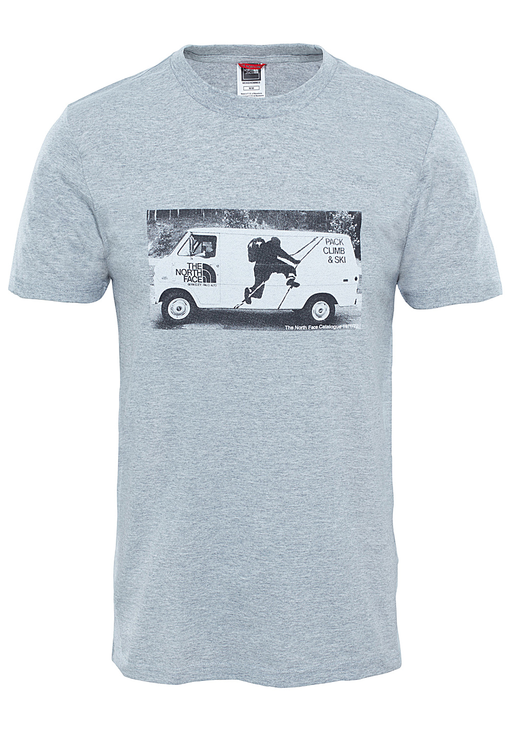 2c57c7330 THE NORTH FACE Celebrate Easy - T-Shirt for Men - Grey