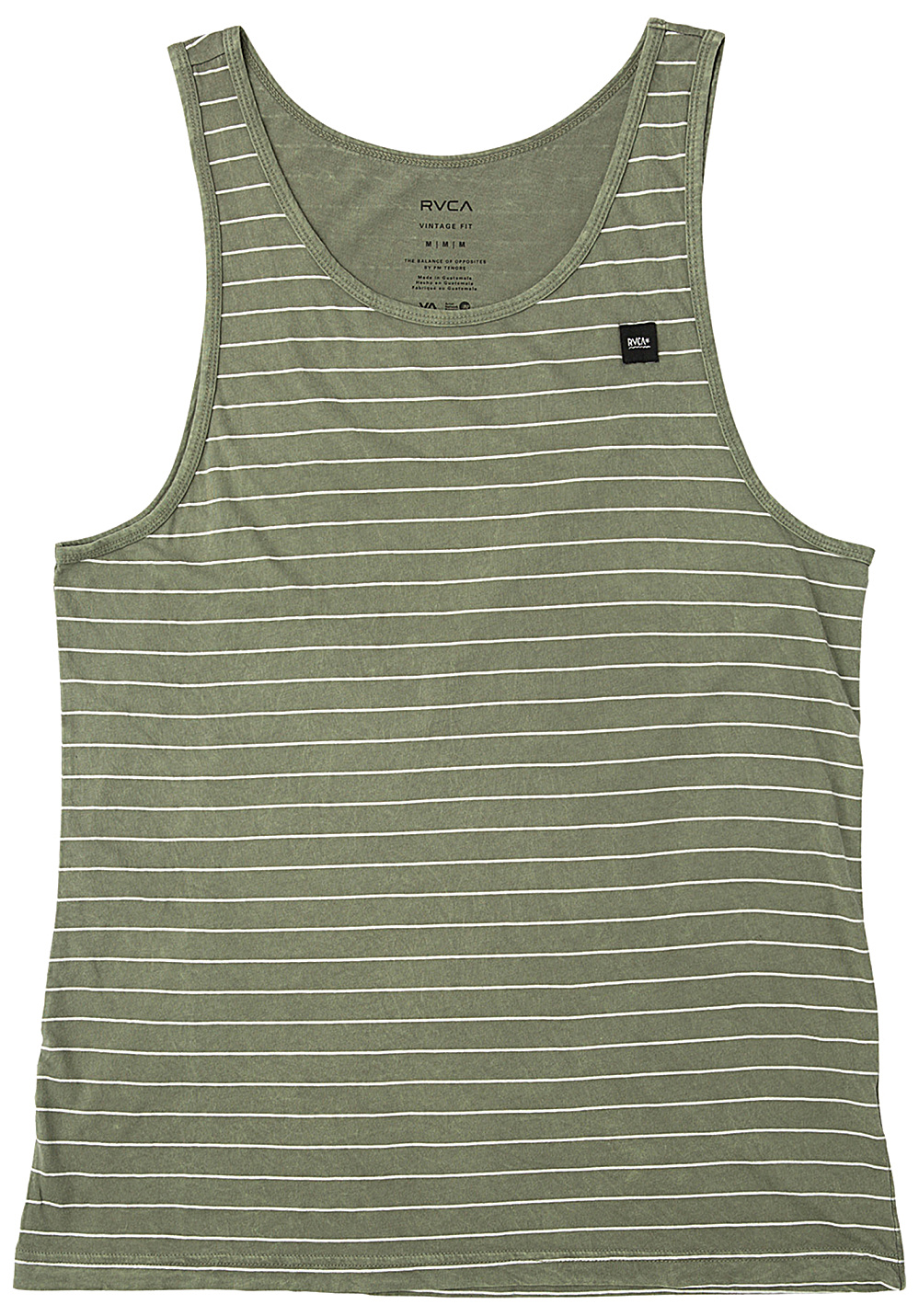 15f999199f RVCA Washout - Top for Men - Green - Planet Sports