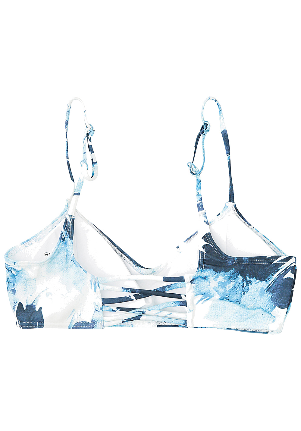 e1cf4b641cc ... RVCA Paint Flower Bralette - Bikini Top for Women - Blue. Back to  Overview. 1  2. Previous