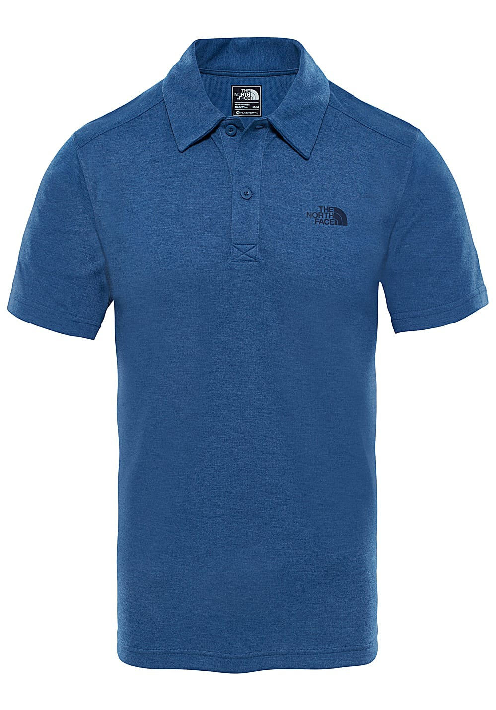 49d47082b THE NORTH FACE Plaited Crag - Polo Shirt for Men - Blue - Planet Sports