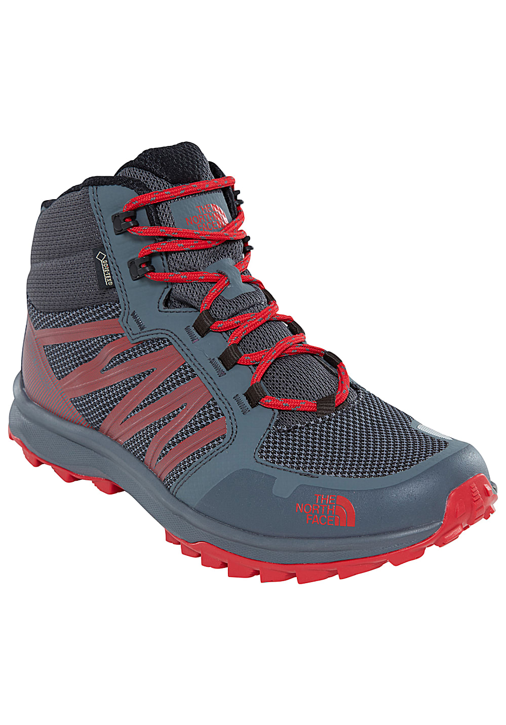 fb31e028a THE NORTH FACE Litewave Fastpack Mid GTX - Trekking Shoes for Men - Grey