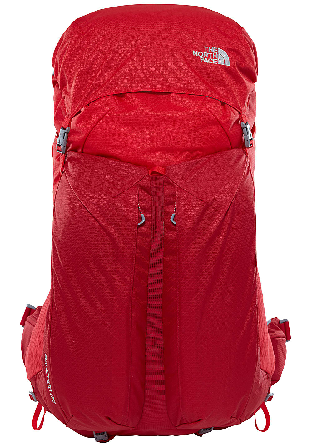kupuję teraz specjalne do butów tani THE NORTH FACE Banchee 50L - Backpack - Red