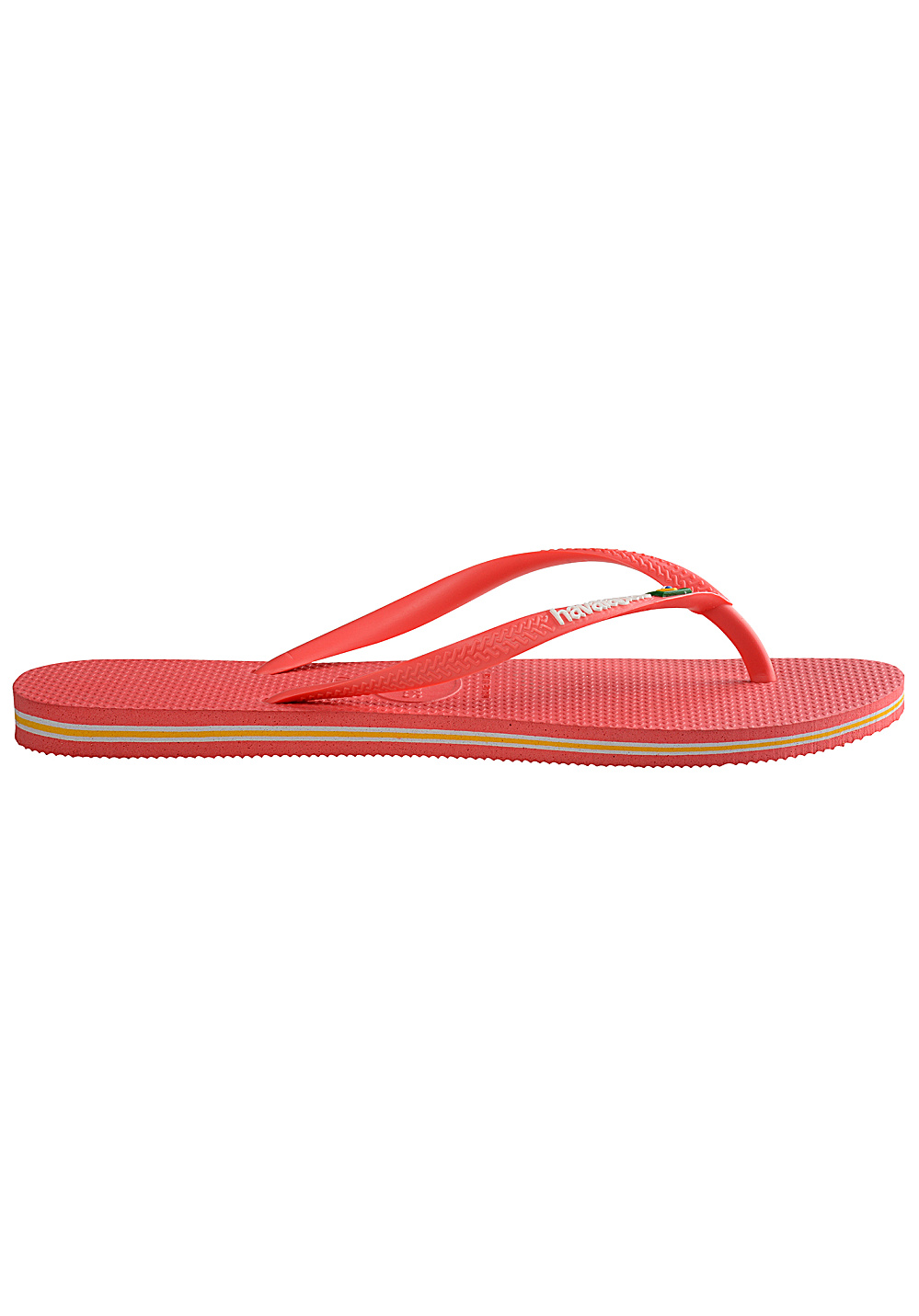 1be38b11b90f7 ... HAVAIANAS Slim Brasil Logo - Sandals for Women - Red. Back to Overview.  1  2. Previous